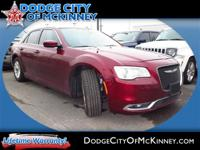 Introducing the 2016 Chrysler 300! Simply a great car!