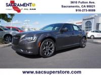 2016 Chrysler 300 S Clean CARFAX. Granite Crystal