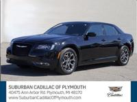 Our all black Chrysler 300S is a wonderful example.