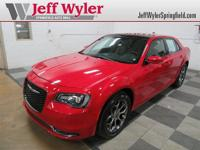 CARFAX One-Owner. Certified. Red Line 2016 Chrysler 300