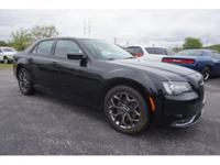 CARFAX One-Owner. Black 2016 Chrysler 300 S AWD 8-Speed