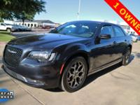 CARFAX One-Owner. Gray 2016 Chrysler 300 S AWD 8-Speed