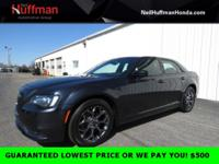 Gloss Black 2016 Chrysler 300 S AWD 8-Speed Automatic
