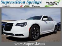 Bright White Clearcoat 2016 Chrysler 300 S RWD 8-Speed