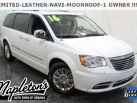 Recent Arrival! 2016 Chrysler Town & Country in White,