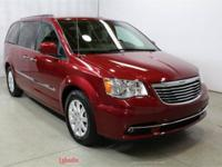2016 Chrysler Town & Country Touring Deep Cherry Red