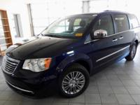 True Blue Pearlcoat 2016 Chrysler Town & Country
