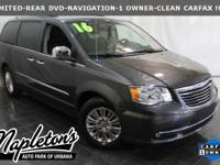 **2016 Chrysler Town & Country Limited** BACK UP CAMERA