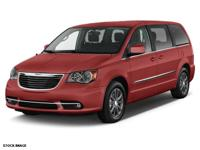 Recent Arrival! 2016 Chrysler Town & Country S Maroon