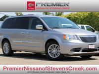 Clean CARFAX. 2016 Chrysler Town & Country Touring-L