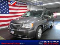 CARFAX One-Owner. Grey 2016 Chrysler Town & Country
