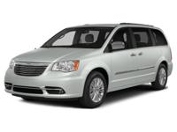 PREMIUM & KEY FEATURES ON THIS 2016 Chrysler Town &