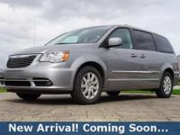 2016 Chrysler Town & Country Touring in Billet Silver