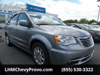Scores 25 Highway MPG and 17 City MPG! This Chrysler