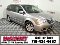 Pristine 2016 Chrysler Town and Country with