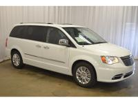 2016 town &country limited in bright white. This
