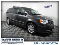 *CLEAN CARFAX*ONE OWNER*Gray 2016 Chrysler Town &