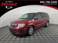 Recent Arrival! Town & Country Touring-L, FWD, Maroon,