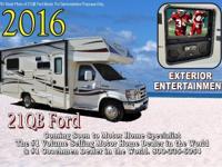 2016 Coachmen Freelander 21QBF W/Ext. At Motor Home