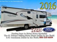 This beautiful class C RV includes Coachmen's Lead Dog