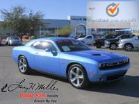 Options:  2016 Dodge Challenger R/T Plus|Blue/|V8 5.7 L
