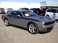 Options:  2016 Dodge Challenger 2Dr Cpe R/T Used|Silver