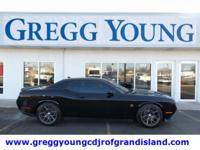 Pitch Black Clearcoat 2016 Dodge Challenger R/T Scat