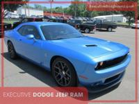 Certified. CARFAX One-Owner. 2016 Dodge Challenger R/T
