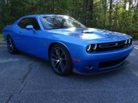 One Owner Clean Carfax Challenger R/T Scat Pack. This