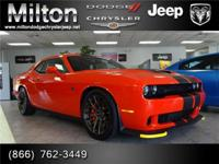 Introducing the 2016 Dodge Challenger! Performance,