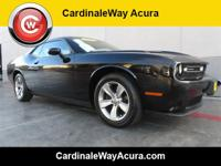 CARFAX One-Owner. Clean CARFAX. Black 2016 Dodge