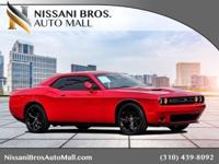 CARFAX One-Owner. Clean CARFAX. Red 2016 Dodge