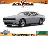 Options:  2016 Dodge Challenger Sxt|Sxt Trim. Epa 30