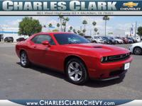 Don't miss out on this 2016 Dodge Challenger SXT! It