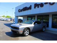 Options:  2016 Dodge Challenger Sxt|Introducing The