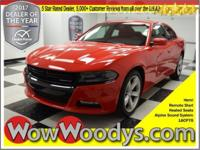 Fast as Flash! This Beautiful Red 2016 Dodge Charger