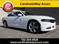 CARFAX One-Owner. Clean CARFAX. White 2016 Dodge