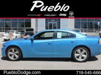 CARFAX 1 OWNER. Charger R/T and Blue Pearl. You Win!