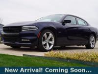 2016 Dodge Charger R/T in Jazz Blue Pearlcoat, This