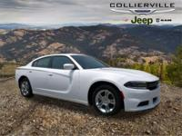Certified. This 2016 Dodge Charger SE in White