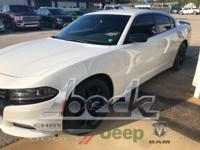 CARFAX One-Owner. White 2016 Dodge Charger SE RWD