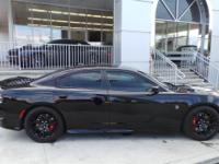 Options:  2016 Dodge Charger Srt Hellcat|Pitch Black