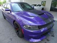 Come see this 2016 Dodge Charger SRT Hellcat. Its