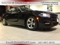 New Price! Black 4D Sedan 2016 Dodge Charger SXT RWD