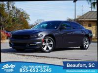 CARFAX One-Owner. Clean CARFAX. Gray 2016 Dodge Charger