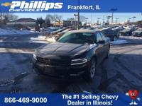 New Price! Pitch Black Clearcoat 2016 Dodge Charger SXT