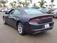 Options:  2016 Dodge Charger Sxt|Gray|Carfax One-Owner.