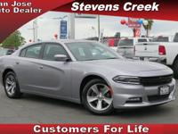 Options:  2016 Dodge Charger Sxt|Silver|3.6L