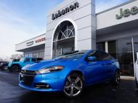 Dart GT and ***ONE OWNER***. GT Leather Seat w/Accent