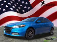 CARFAX One-Owner. Blue 2016 Dodge Dart SE FWD 6-Speed